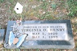 Virginia O Henry