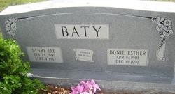 Henry Lee Baty