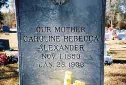 Caroline Rebecca <i>Gill</i> Alexander
