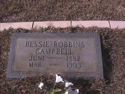 Bessie <i>Robbins</i> Campbell