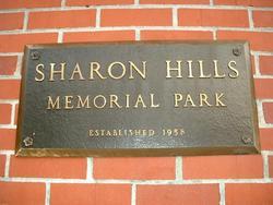 Sharon Hills Memorial Park
