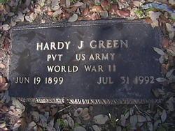 Hardy J Green
