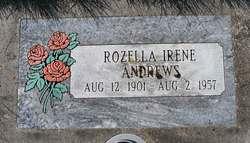 Rozella Irene <i>Sproul</i> Andrews