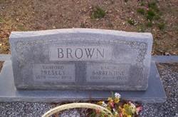 Sanford Presley Brown