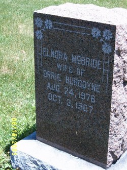Elnora <i>McBride</i> Burgoyne
