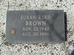 Susan <i>Reed</i> Brown