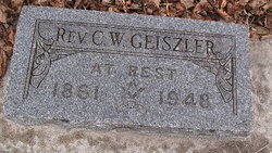 Rev C W Geiszler
