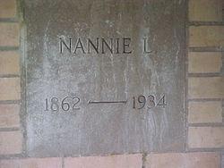 Nannie L. Beall
