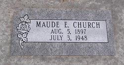 Maude Elizabeth <i>Spears</i> Church