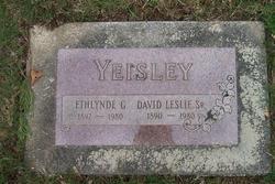 David Leslie Yeisley, Sr