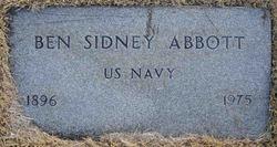 Benjamin Sidney Abbott