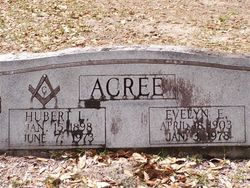 Evelyn E Acree