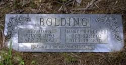 Rev John Bolding