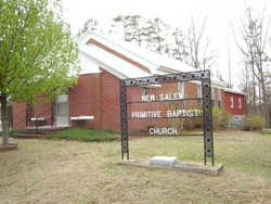 New Salem Primitive Baptist Church Cemetery