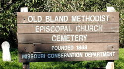 Old Bland Methodist Cemetery