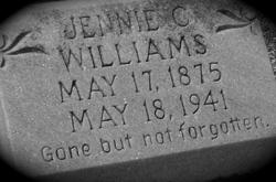 Jennie Celeste <i>Parks</i> Williams