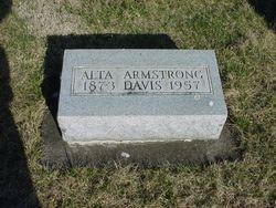 Alta <i>Davis</i> Armstrong