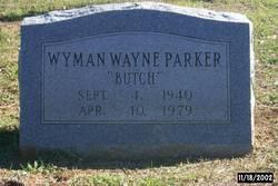 Wyman Wayne <i>Butch</i> Parker