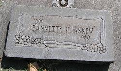 Jeannette H Askew