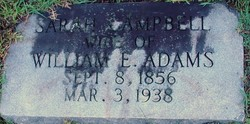 Sarah <i>Campbell</i> Adams