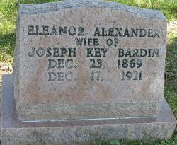 Eleanor <i>Alexander</i> Bardin
