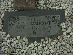 Alice <i>Kilgore</i> Malicoat