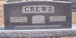 Sophia A. <i>Green</i> Crews