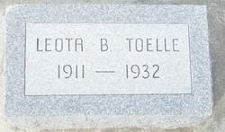 Leota B Toelle