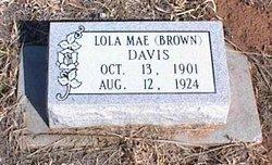 Lola Mae <i>Brown</i> Davis