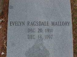 Evelyn <i>Ragsdale</i> Mallory