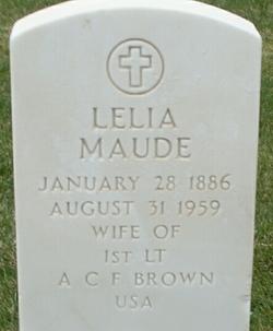 Leila Maude <i>Kircher</i> Brown