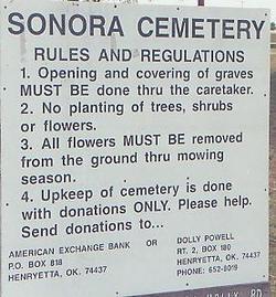New Sonora Cemetery
