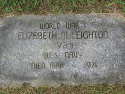 Elizabeth Mary <i>Mallon</i> Leighton