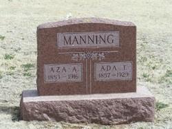 Ada Tennesse <i>Blackburn</i> Manning
