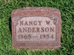 Nancy W Anderson