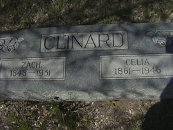 Celia Elizabeth <i>Hillyard</i> Clinard