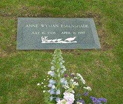 Anne <i>Wyman</i> Esbenshade