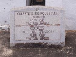 Marie Celestine <i>DeRousselle</i> Bourdier