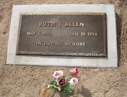 Ruth I Allen