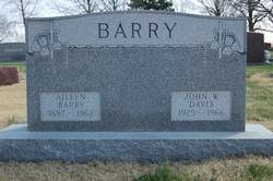 Mary Aileen <i>Ellis</i> Barry