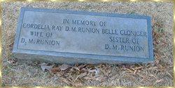 Belle <i>Runion</i> Cloninger