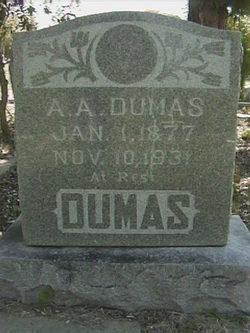 A A Dumas
