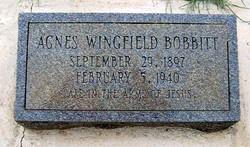 Agnes <i>Wingfield</i> Bobbitt