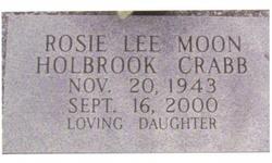 Rosa Lee <i>Moon</i> Crabb