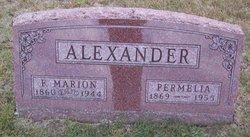Permelia <i>Kingery</i> Alexander