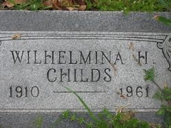 Wilhelmina H Childs
