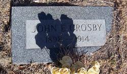 John E Crosby