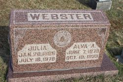 Alva Alonzo Webster