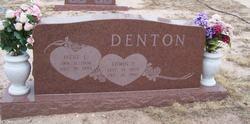 Edwin T Denton