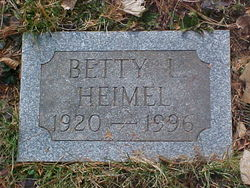 Betty Lois <i>Holben</i> Heimel
